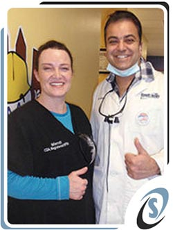 """Dr. Khan and Mendi Help """"Give Kids a Smile""""!"""