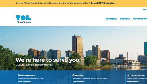 Local Resources for City of Toledo, OH Residents
